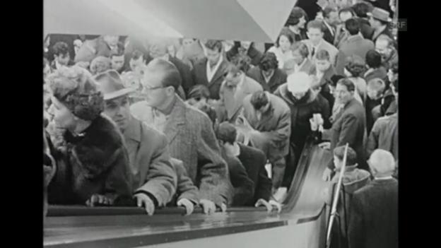 Video ««Ausverkäufe», Freitagsmagazin, 20.1.1961» abspielen