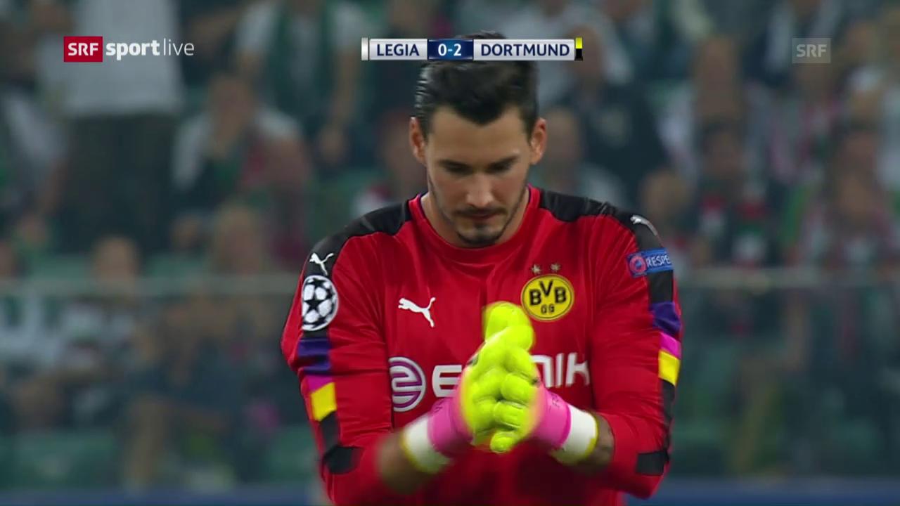 Dortmund überfährt Legia Warschau