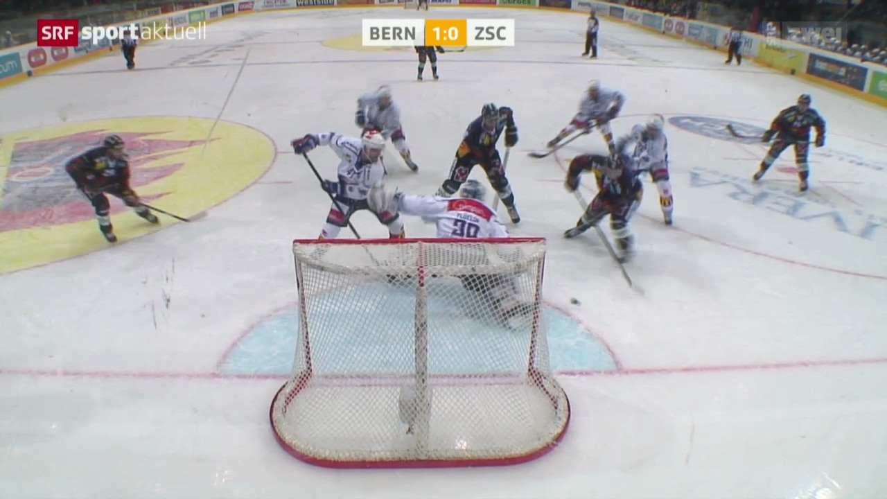Eishockey: NLA, Bern - ZSC
