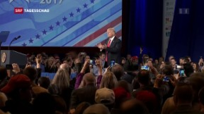 Video «Trump in seinem Element» abspielen