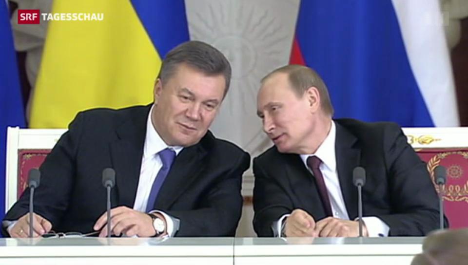 Russland gewährt der Ukraine massive Finanzhilfen