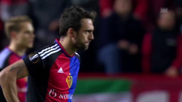 Video «Zusammenfassung Sevilla - Basel» abspielen