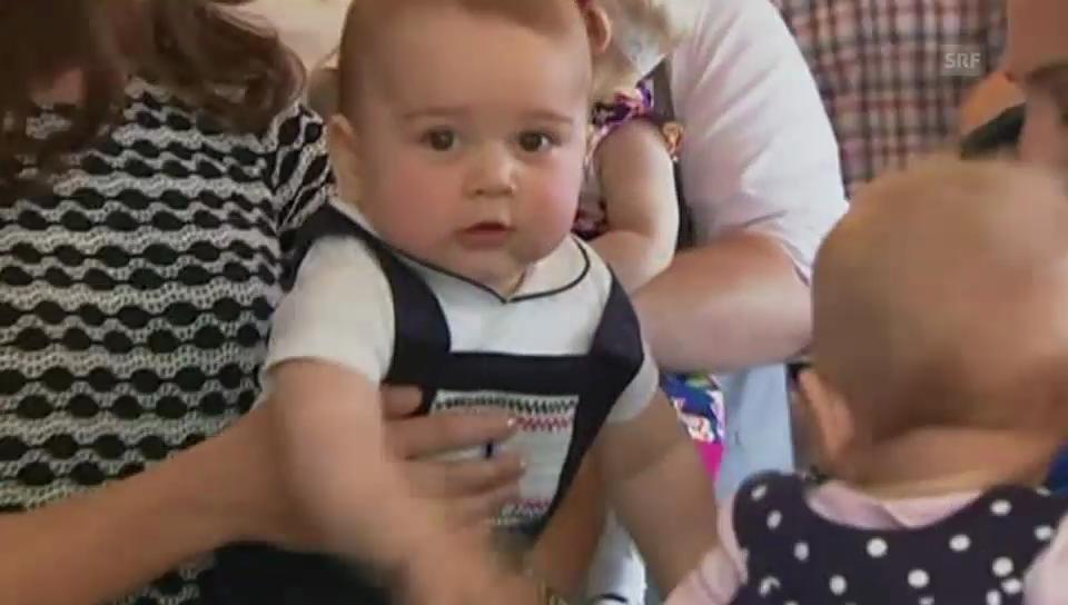 Baby George in der Krabbelgruppe (unkomm.)