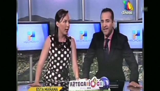 Video «Erdbeben in Mexiko - live im Studio» abspielen