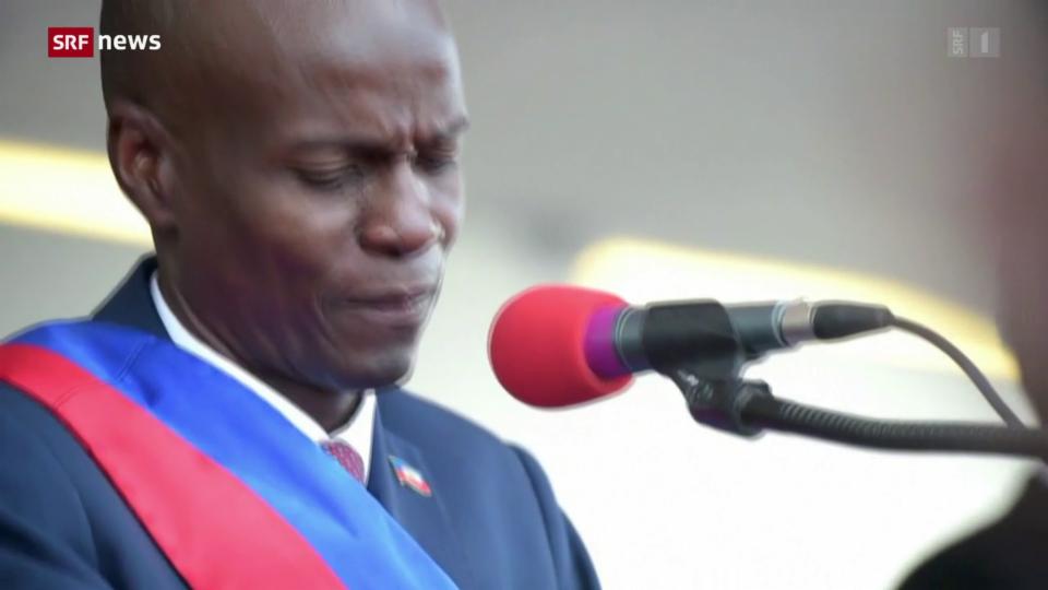 Haitis Präsident im eigenen Haus getötet