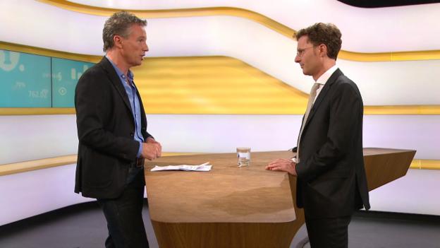 Video «Studiogespräch mit Daniel Lampart, Geschäftsführer vom Schweizerischen Gewerkschaftsbund» abspielen