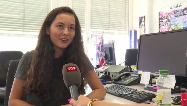 Video «Lea Schawinski über ihre «G&G»-Gastmoderation» abspielen