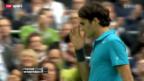 Video «Federer gegen Benneteau in Rotterdam» abspielen