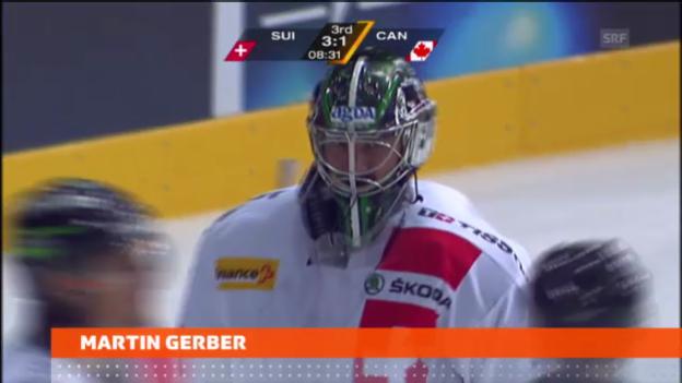 Video «Eishockey: Martin Gerber wechselt zu den Kloten Flyers («sportnews»)» abspielen