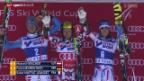 Video «Ski alpin: Weltcup-Riesenslaloms in Are und Val d'Isere» abspielen