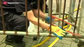 Video «Räumung von Hongkonger Protestlager» abspielen