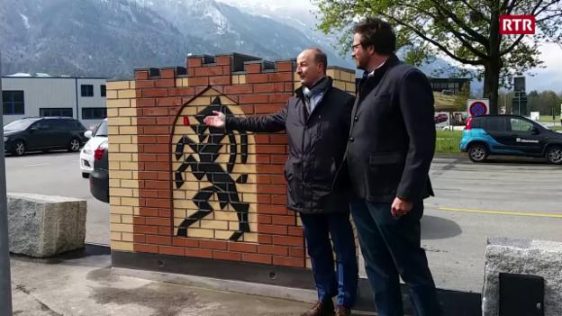 Laschar ir video «Cuira ha in nov monument»