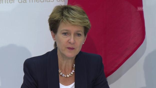 Video «Bundesrätin Sommaruga zu den neuen Massnahmen» abspielen