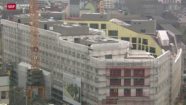 Video «Neue Wohnform direkt über Tramdepot» abspielen