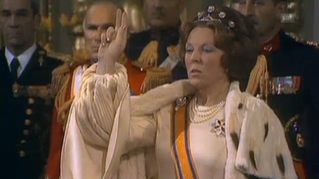 Video «30. April 1980: Die Krönung von Königin Beatrix (unkomm.)» abspielen