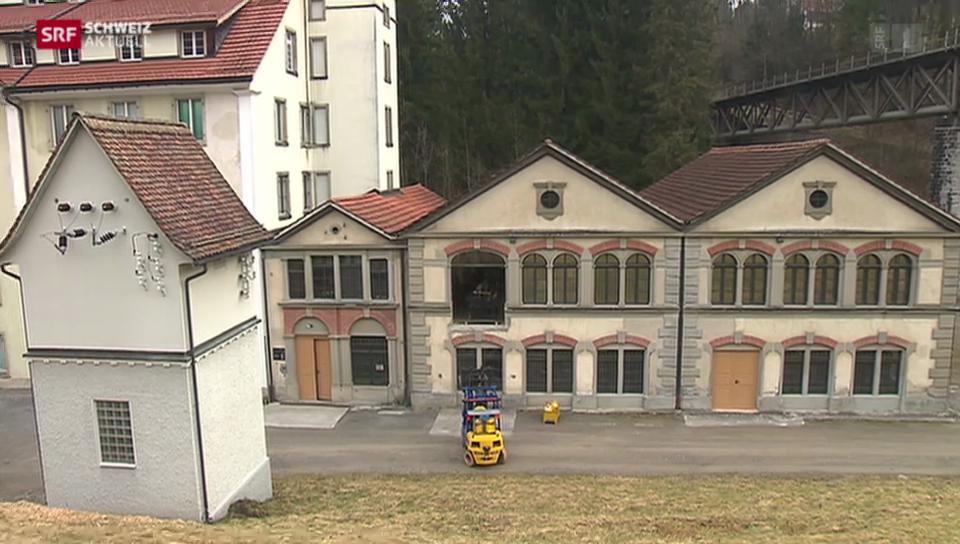 Anno 1914: Spektakuläre Webstuhl-Züglete