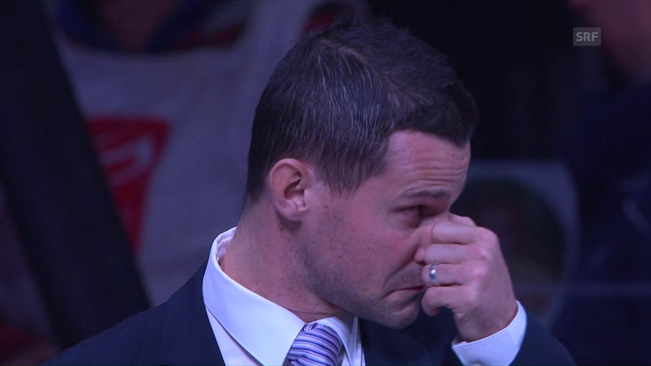 Bärtschis emotionaler Abschied im Hallenstadion