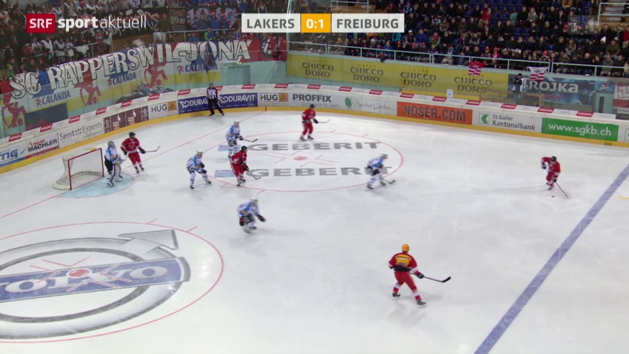 Eishockey: NLA, Lakers - Freiburg