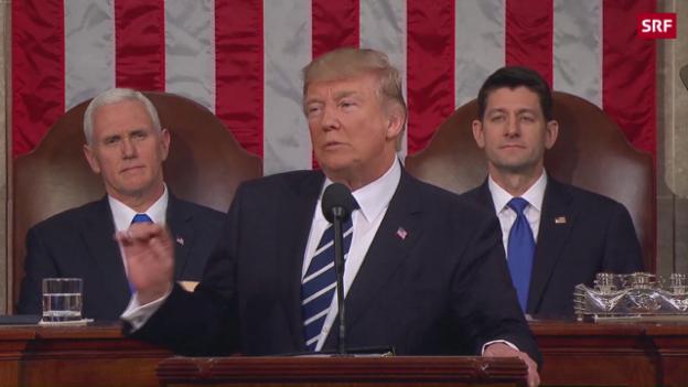 Video ««Amerika ist wieder bereit zu führen»» abspielen