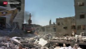 Video «Zwischen Israel und Gaza fliegen wieder Raketen» abspielen