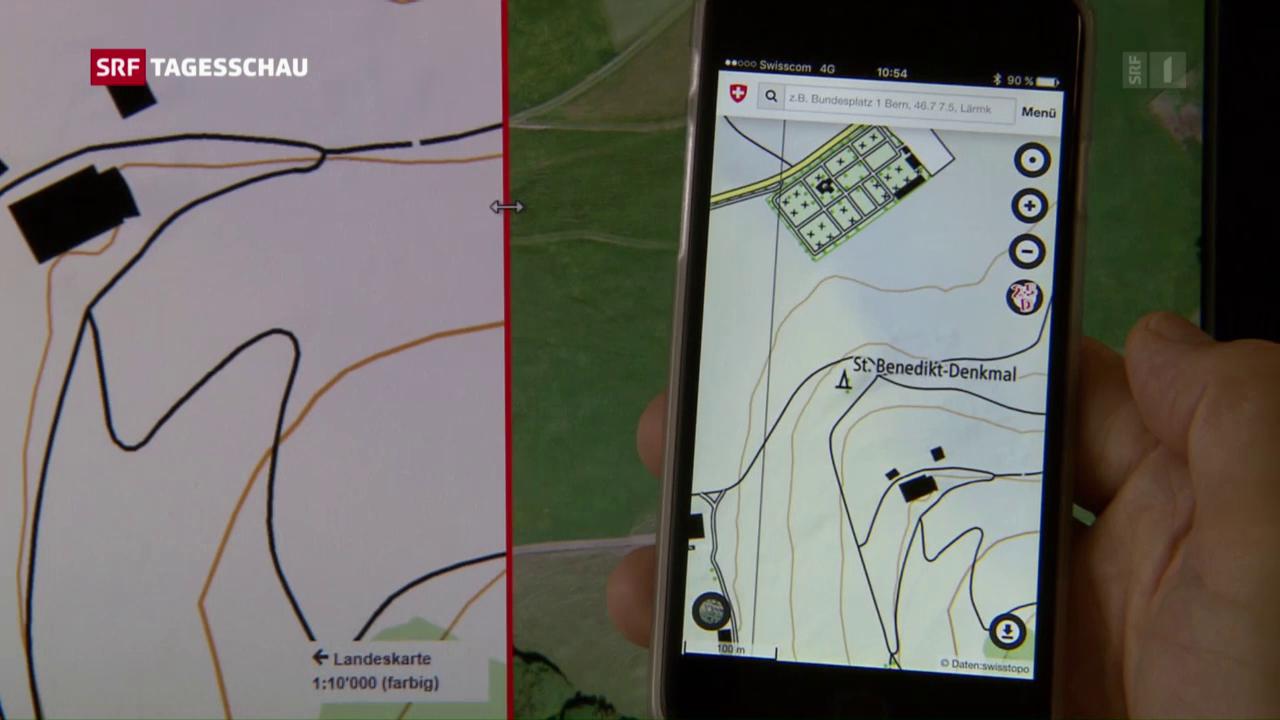 Geodaten auch für das Smartphone