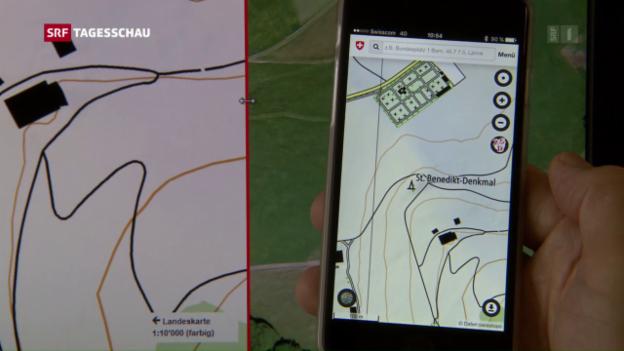 Video «Geodaten auch für das Smartphone» abspielen