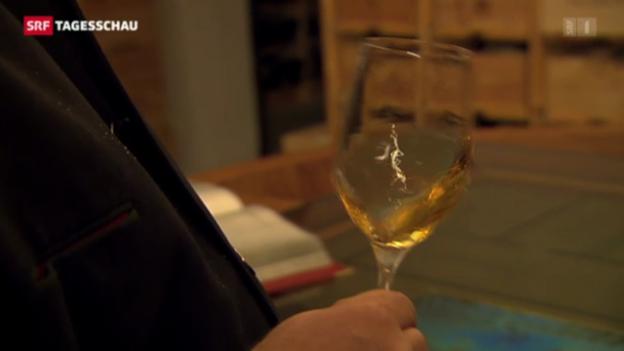 Video «Schweizer trinken weniger Wein» abspielen