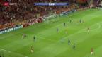 Video «Fussball: Champions League, Galatasaray - Anderlecht» abspielen