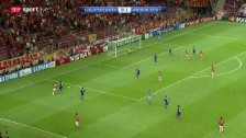 Video «Fussball: Champions League, Galatasaray - Anderlecht» abspielen