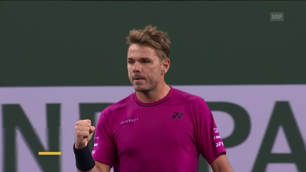 Live-Highlights Wawrinka - Thiem