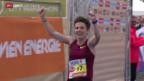 Video «Leichtathletik: Marathon Wien» abspielen