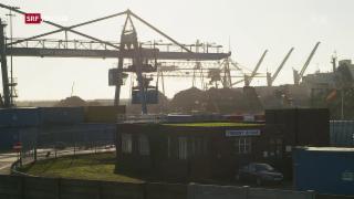 Video «FOKUS: Themse-Hafen glaubt an die Kraft des Brexit» abspielen