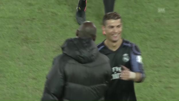 Video «Real Madrid steht verdient im Final der Klub-WM» abspielen