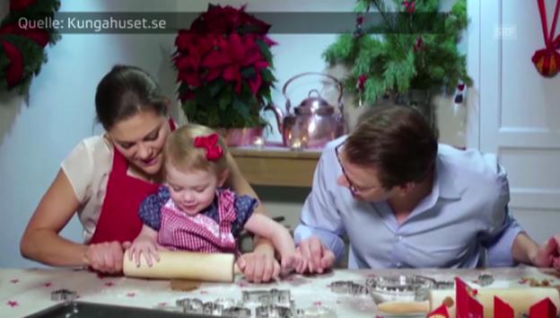 Video «Prinzessin Estelle beim Guetzle» abspielen