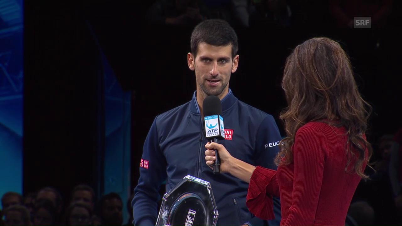 Djokovic: «Andy ist definitiv die Nummer 1»