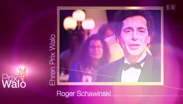 Video «Ehren-Prix-Walo: Roger Schawinski erhält Preis fürs Lebenswerk» abspielen