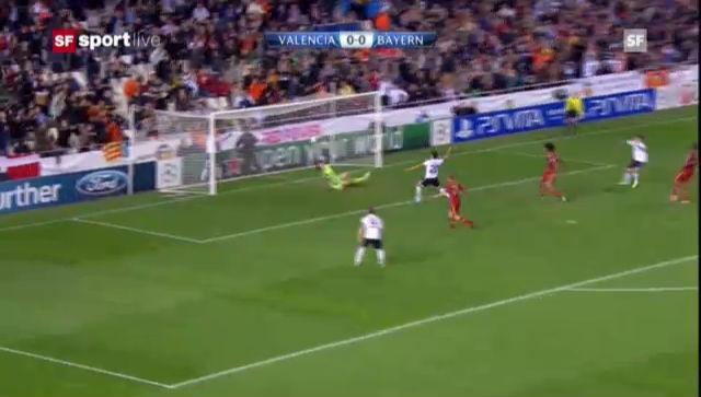 CL: Valencia - Bayern