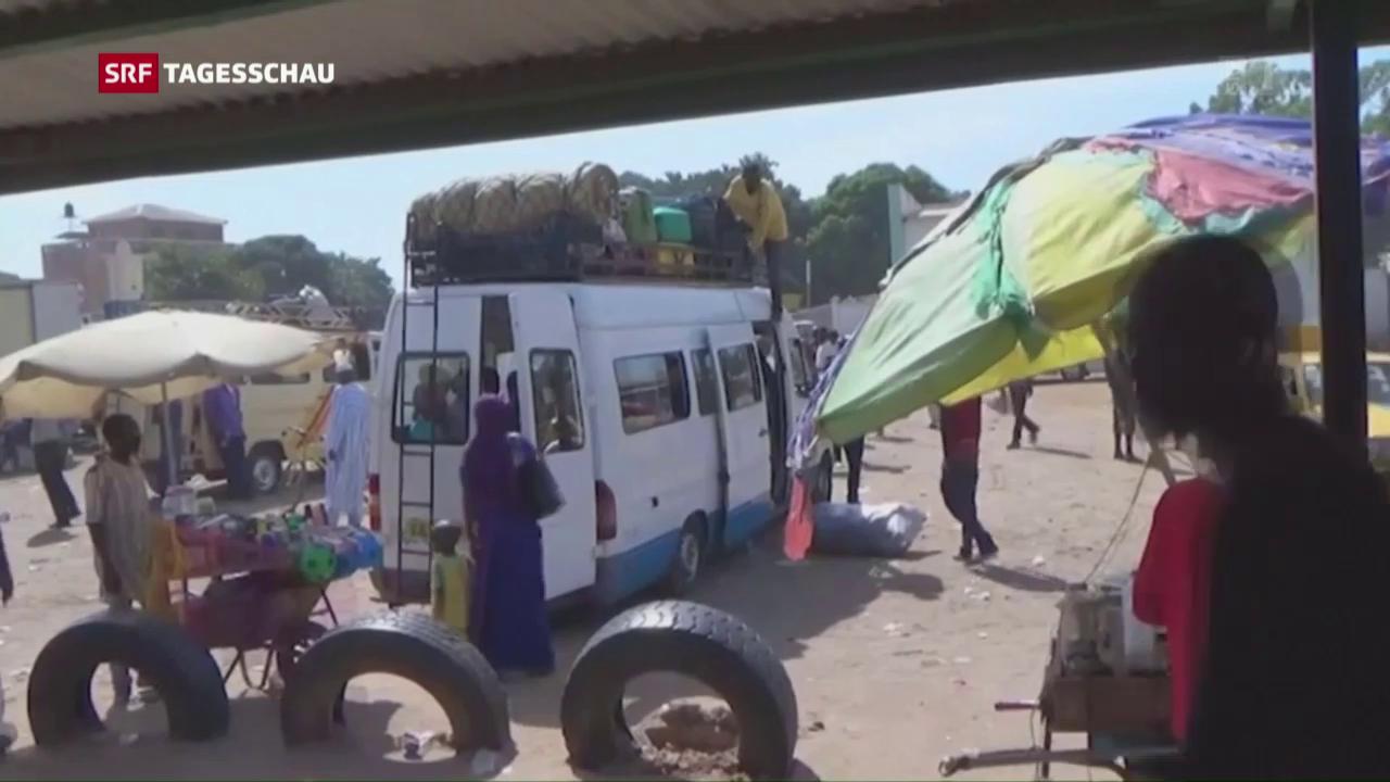 Kriegsgefahr in Gambia – Tausende fliehen