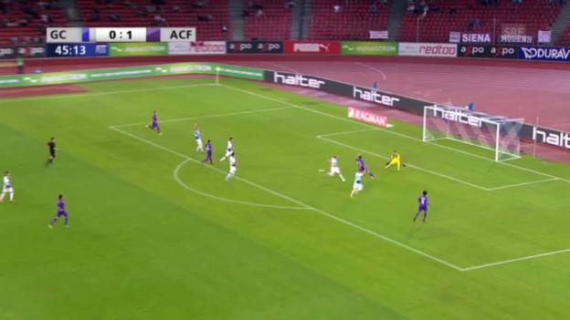 Video «Die Tore von GC - Fiorentina («sportlive»)» abspielen