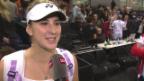 Video «Bencic: «Ich war am Schluss sehr nervös.»» abspielen