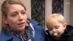 Video «Umfrage bei Studentinnen mit Kind» abspielen