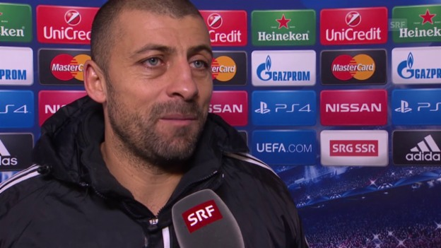 Video «Fussball: Champions League, Achtelfinal, FC Basel - Porto, Interview mit Walter Samuel» abspielen