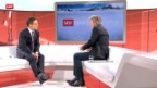 Video «Gespräch mit Studiogast Bernhard Russi, Teil II» abspielen