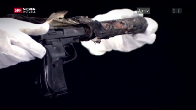 Video «NSU-Morde: Zweifel an Schweizer Herkunft der Waffe» abspielen