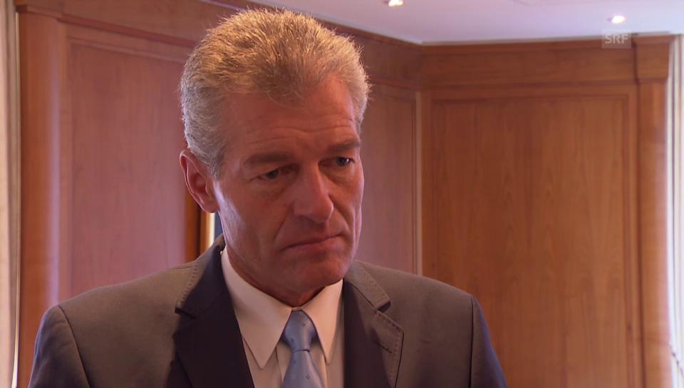 VR-Präsident Heinz Karrer über die Lage bei Kuoni