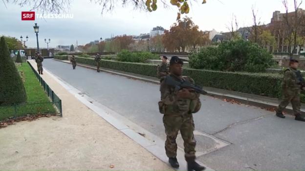 Video «Ende des Ausnahmezustands in Frankreich» abspielen