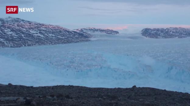Video Riesiger Eisberg bricht weg abspielen.