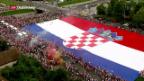 Video «Kroatien feiert seine Helden» abspielen