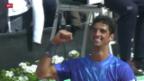 Video «Tennis: ATP Genf, Bellucci gewinnt» abspielen