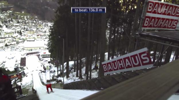 Video «2. Sprung Jan Ziobro («sportlive», 21.12.13)» abspielen